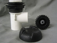 """Catalina Spas 1"""" On/Off Valve Internal Only With Cap"""