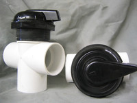 """Catalina Spas 2"""" Top Access Diverter Valve Complete (Old Style)"""