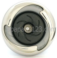 "PLU21703624, 5.5"" Cal Spa Jet Insert Power  Storm Directional S/S"
