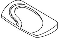 9800-912 Sundance® Spas Filter Lid Platinum, 2000+ Sundance Portofino Caprio