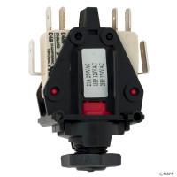 Air Switch, 20A DPDT, Thd, LC 6872