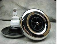 "6.5"" XL Power Storm Spa Jet Internal Massage Black-S/S- S/S Fiber Optic Catalina Spas"