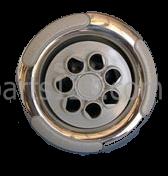 "6540-310 Sundance® Spas Jet Insert, 5"", Duo-Path, Gray or S/S"