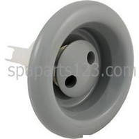 """5"""" Face Cyclone Spa Jet - Pulsator, Smooth Finish White-Grey [DISCONTINUED]"""