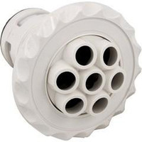 """3 3/8"""" Deluxe Poly Spa Jet Massage Deluxe White"""