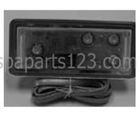 11609 Dynasty Spas Balboa Topside Control, SV501 Pack, 2 Pump, 53689