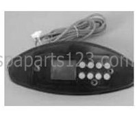 10702 Dynasty Spas Topside Control, TSC-47, Tri-Oval, SSPA-MP, 0202-007120