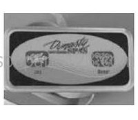 10065 Dynasty Spas Balboa Topside Control, Auxiliary, 2-Button, 2000 Pack, 51570