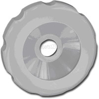 01522-52G Dimension One Spas Selector Valve - Cap (Gray)