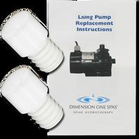 01512-3048 D1 Spas Laing Circulation Pump Replacement Kit