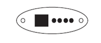 33-0460-40 Artesian Spas Topside, TSC-9/K-9, 4 Button