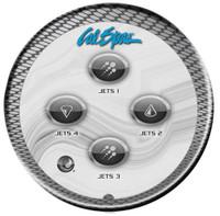 ELE09002070 Cal Spa Topside Control Panel, Auxilliary, 50459, 2015+