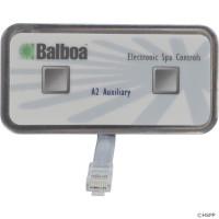 54102 Balboa Topside, 2 Button, Aux, 8 Conductor, 18' Cord