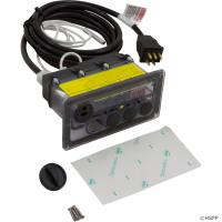 3 Button, CC3D-240-10-I-0, Tecmark Digital Command Center, With Display, 230V