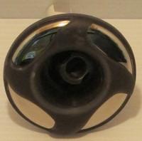 """3"""" Dynasty Spa Jet, Mini Stom, Threaded, Directional, Gry/Mtl, 4 Swirl, 2012, 14471"""