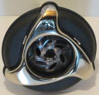 """3 3/8"""" Dynasty Spa Jet, Poly Storm, Massage, Glo, SS/Blk, Dynasty Logo, 2008,  12526"""