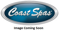 "3-3/8"" Coast Spas Jet, Old Style Poly, Massage, Black W/ Stainless, 210-2411SE-X"