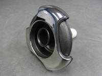 """5"""" Coast Spas Jet, Whirlpool, Tri Lever, Stainless W/ Dk Gray, CC2122019-GMBS-X"""