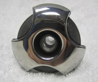 """2"""" Coast Spas Jet, Cluster Storm, Directional, Tri Lever, Stainless W/ Dk Gray, CC2291039-GMBSx"""