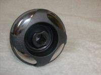 "3-3/8"" Coast Spas Jet, Poly 4 Swirl, Directional, Stainless W/ Dk Gray, 212-4029S-DSGx"