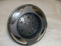 "5"" Coast Spas Jet, Power Storm, 4 Swirl, Galaxy, Dk Gray W/ Stainless, 212-6399S-DSGx"