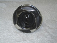 "5"" Coast Spas Jet, Power Storm, Threaded, 4 Swirl, Twin Roto, Stainless W/ Black, 229-2641Sx"