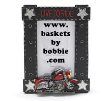 Live To Ride Motorcycle Photo Frame