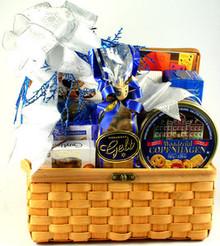Hanukkah Treasures, Kosher Gift Basket