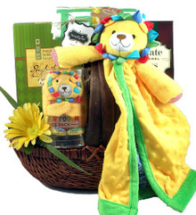 Safari Baby Gift Basket