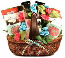 Tell your mom just how much you care for her with this heartwarming gift basket for Mother's Day, her Birthday or any day!