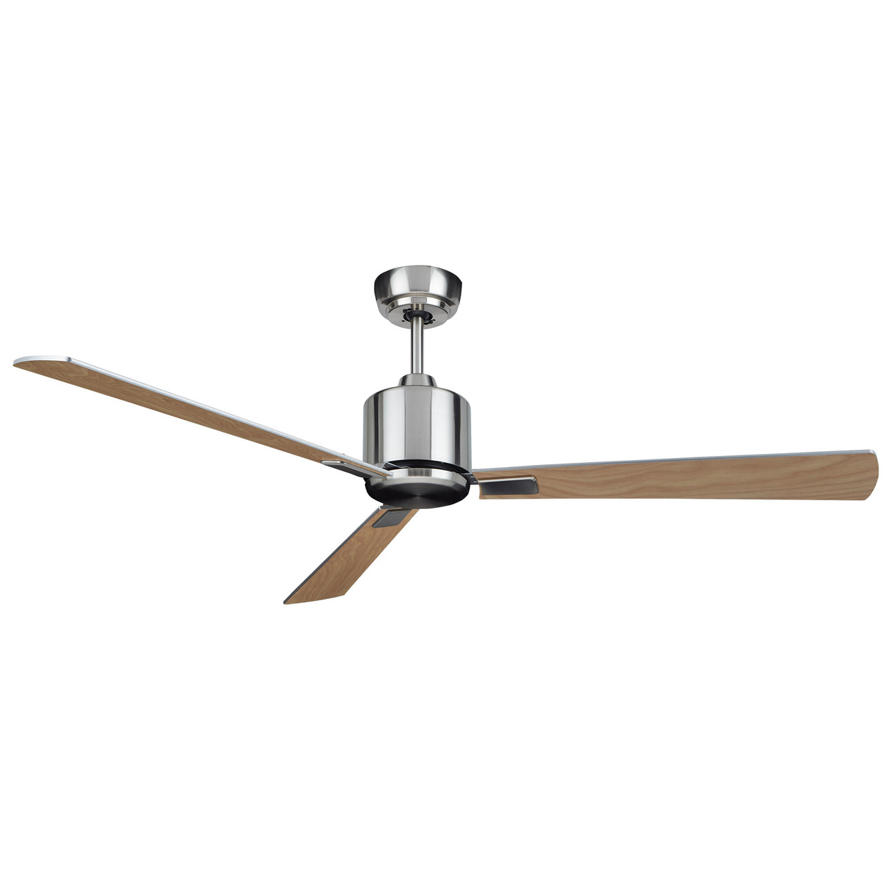 Dc Motor Ceiling Fans: KittyHawk Ceiling Fan Antique Brass 52in KittyHawk Ceiling Fan Silver 52in,Lighting