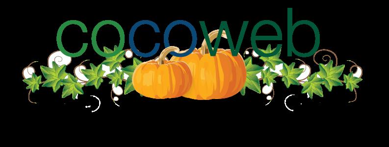 Cocoweb Halloween Logo