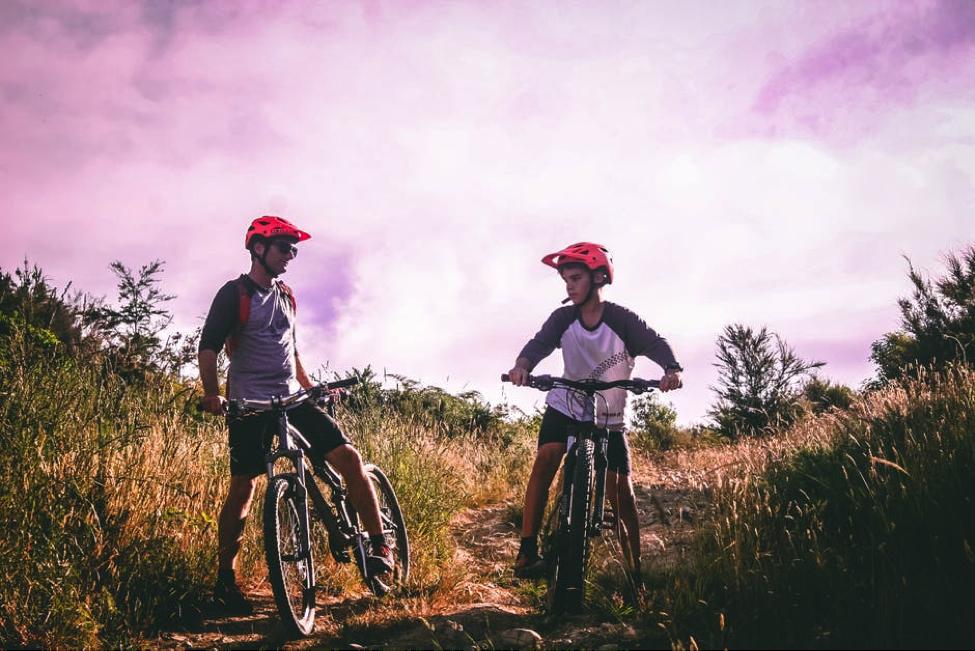 Biking with dad- Cocoweb
