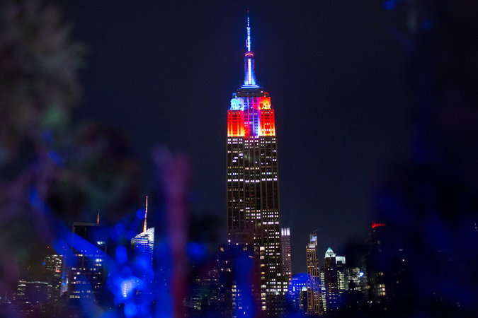 Empire State Building LED Lights