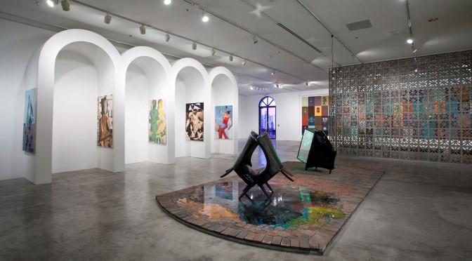 art museum Miami lights