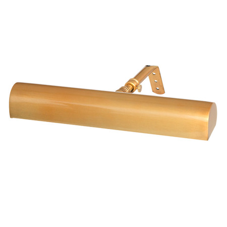 """Brushed Gold 10"""" LED Classic Picture Light"""