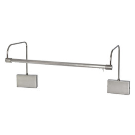 "Hardwire LED Tru-Slim 21"" Satin Nickel Picture Light"