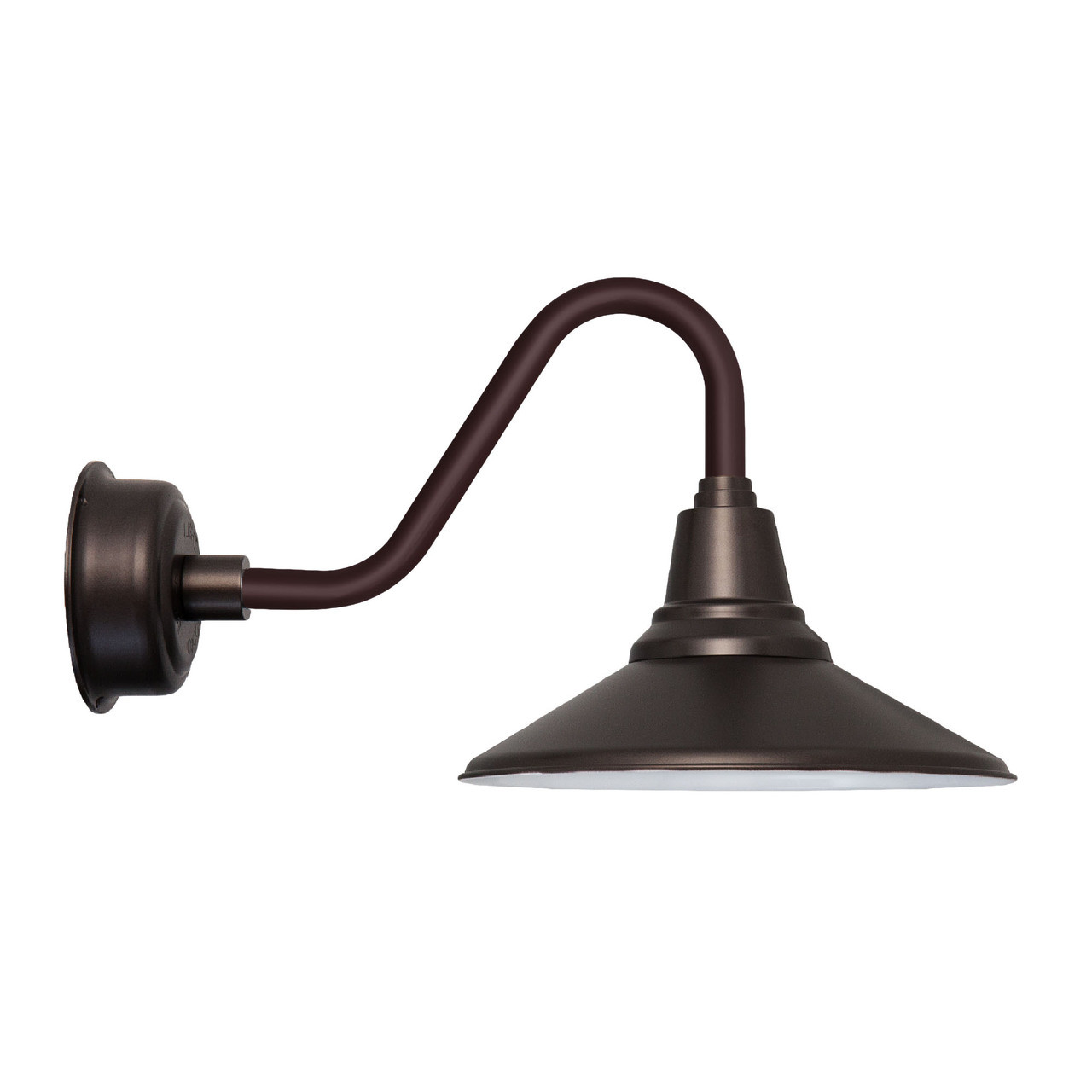 16 vintage mahogany bronze calla indoor outdoor led barn for Fixture exterieur
