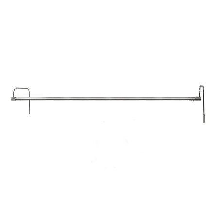 Battery-Operated 43'' Tru-Slim LED Picture Light - Satin Nickel