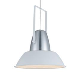 "18"" Cremona LED Pendant Light in White"