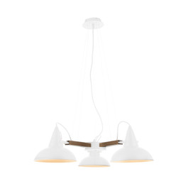 Amatrice 3 Light LED Chandelier in White