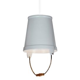 """11"""" Orvieto LED Pendant Light in White"""