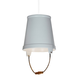"11"" Orvieto LED Pendant Light in White"