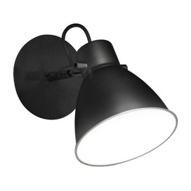 "5"" Atrani LED Sconce Light in Black"