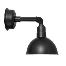 "14"" Blackspot LED Sconce Light with Cosmopolitan Arm in Matte Black"