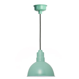 "8"" Blackspot LED Pendant Light in Jade"