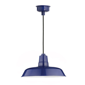"12"" Oldage LED Pendant Light in Cobalt Blue"