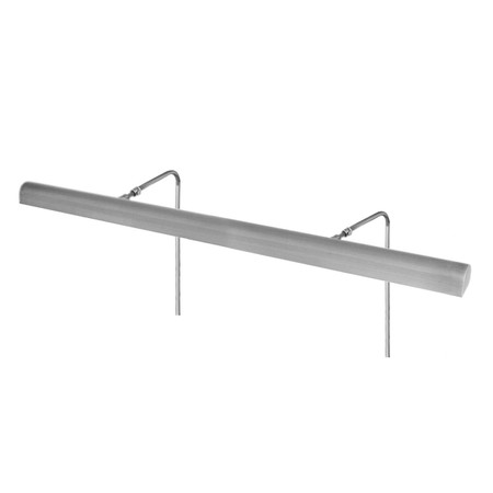 """36"""" Battery Operated Classic LED Picture Light in Satin Nickel"""