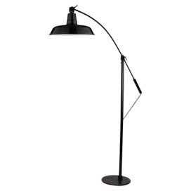 "12"" Oldage LED Floor Lamp - Black"