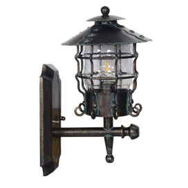 Firies Outdoor LED Wall Lantern - Large